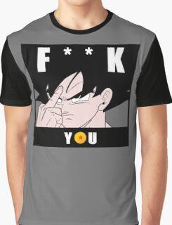 GOKU - F**K YOU Graphic T-Shirt