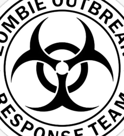 ZOMBIE RESPONSE TEAM  Sticker