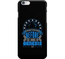 Before The Book Of Genesis (Sonic Legendary Gamer) iPhone Case/Skin