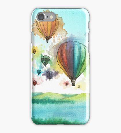 Balloon Explosion iPhone Case/Skin