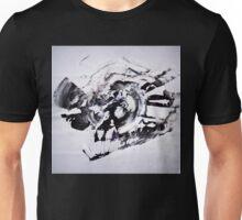 COLD & White 2 - New Year BIG Monochromatic Original mixed media painting Unisex T-Shirt