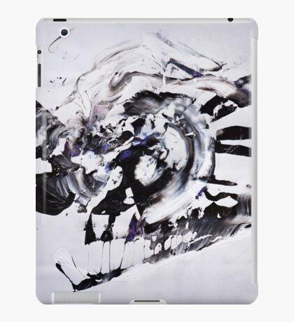 COLD & White 2 - New Year BIG Monochromatic Original mixed media painting iPad Case/Skin