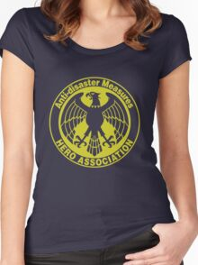 one punch man - hero association ORG Women's Fitted Scoop T-Shirt