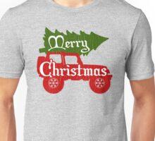 Merry Christmas 4x4 (vintage look) Unisex T-Shirt