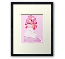 Steven Universe Rose Quartz  Framed Print