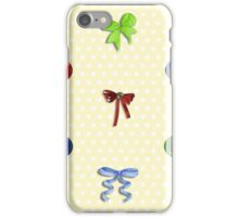 Buttons and Bows iPhone Case/Skin