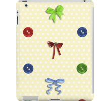 Buttons and Bows iPad Case/Skin