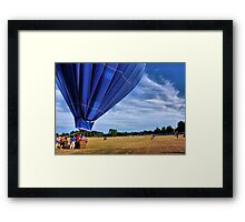 Blue Skys Framed Print