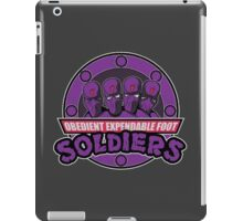 Obedient and Expendable iPad Case/Skin