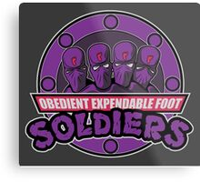 Obedient and Expendable Metal Print