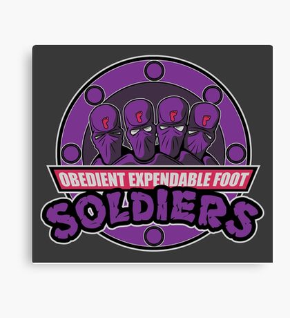 Obedient and Expendable Canvas Print