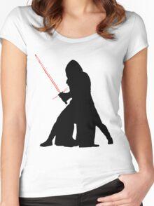 Star Wars - Kylo Ren Women's Fitted Scoop T-Shirt
