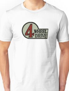 Toyota FJ40 Land Cruiser Four Wheel Drive Emblem Unisex T-Shirt