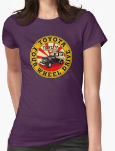 Vintage Land Cruiser Womens Fitted T-Shirt