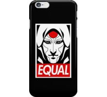Equal iPhone Case/Skin