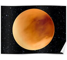 Dust Storm on Planet Dune Arrakis Poster