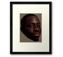 WHOMP Emote IRL Framed Print