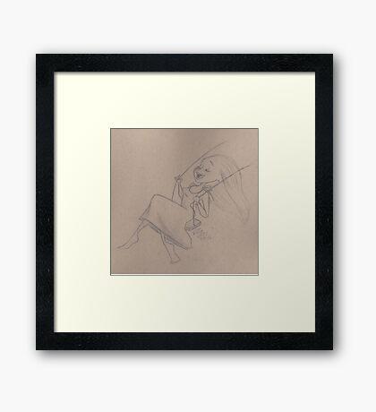 Child-like Framed Print