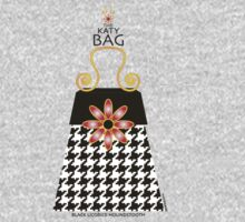 The Katy Bag / Black Licorice Houndstooth One Piece - Short Sleeve