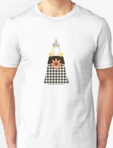 The Katy Bag / Black Licorice Houndstooth T-Shirt