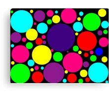 Multi-Colored Bubbles Canvas Print