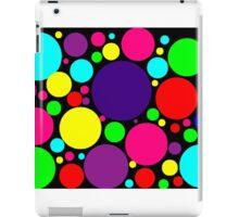Multi-Colored Bubbles iPad Case/Skin