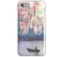"""""""Fishing in Autumn"""" by Curtis Caton iPhone Case/Skin"""