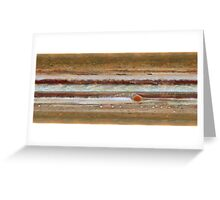 Hubble Space Telescope Jupiter Great Red Spot Greeting Card