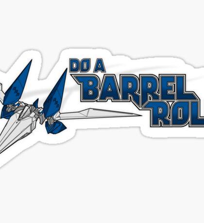 Do a Barrel Roll Sticker