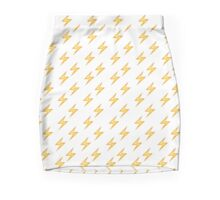 Lightning Emoji Pencil Skirt/Pillows/Case Mini Skirt