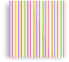Multi-Colored Stripes Metal Print
