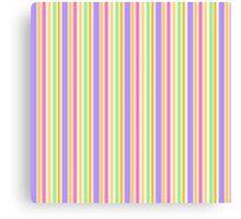 Multi-Colored Stripes Canvas Print