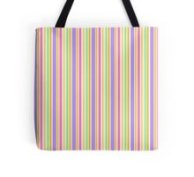 Multi-Colored Stripes Tote Bag