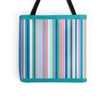 Multi-Colored Stri Blues Tote Bag