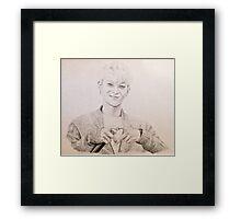 EXO - Tao Drawing Framed Print