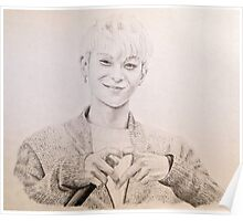 EXO - Tao Drawing Poster