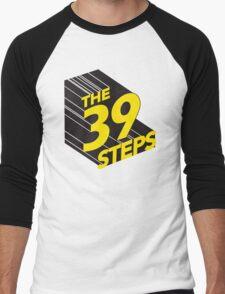 Vintage 39 steps title Men's Baseball ¾ T-Shirt