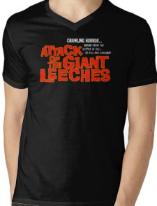Attack of the giant leeches title Mens V-Neck T-Shirt