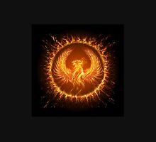 Phoenix in circular frame.  Unisex T-Shirt