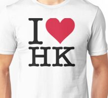 I Love Hong Kong Unisex T-Shirt