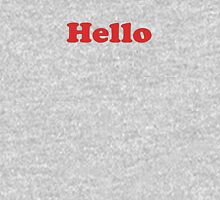 Hello T-Shirt Sticker Unisex T-Shirt