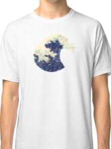 Triangular Pixel Wave Classic T-Shirt