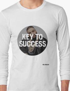 DJ KHALED - KEY TO SUCCESS Long Sleeve T-Shirt