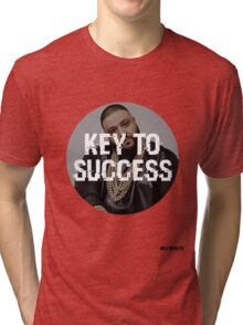 DJ KHALED - KEY TO SUCCESS Tri-blend T-Shirt