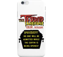 The terror title poster iPhone Case/Skin