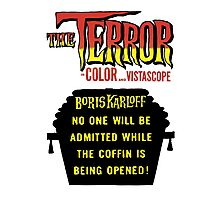 The terror title poster Photographic Print