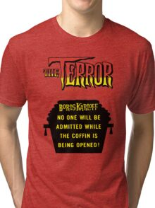 The terror title poster Tri-blend T-Shirt