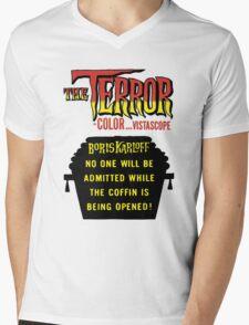 The terror title poster Mens V-Neck T-Shirt