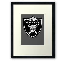 Wasteland Raiders Framed Print