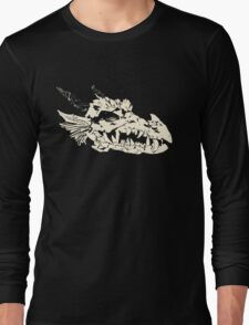 Ancient Dragon Skull Long Sleeve T-Shirt